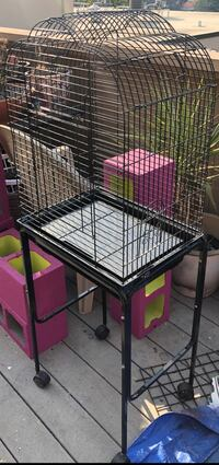 Bird cage with stand 2388 mi