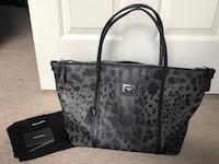 Dolce & Gabbana Black and Grey Leopard Print Tote Gainesville, 20155