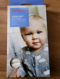 New BabyBjorn Fitted Sheet for Travel Cot Vaughan, L4L 8K5