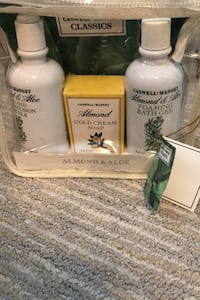 Almond and Aloe  soap, shower gel and lotion set Vienna, 22180
