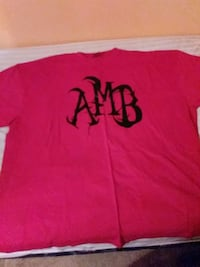 red and black AMB crew-neck t-shirt 5xl New Castle, 19720