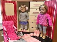 American Girl - Caroline and Isabelle  404 mi