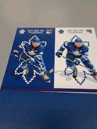 Leafs vs rangers December 28 great for Christmas  Richmond Hill, L4C 6K7