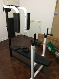 Workout Center Bench with Pec Deck Attachment Toronto, M2N 5X8