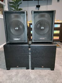 subwoofers and speakers