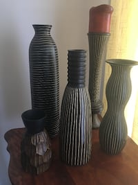 Set of Vases & Candle Holder Osage Beach