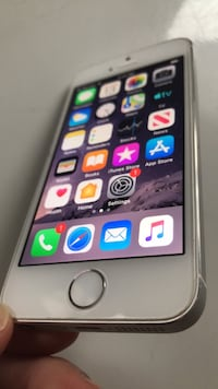 iPhone 5S - 16GB - Silver (AT&T, Cricket)