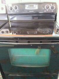 Admiral glass top stove
