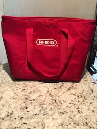 red and black Coleman duffel bag Odessa, 79761