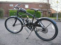 black and gray motorized bicycle Tempe, 85282