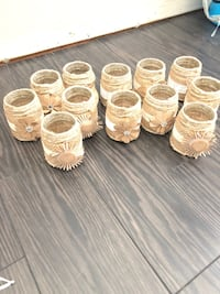 12 Jars wrapped in Twine Courtice, L1E 1Y2