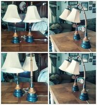 two white-and-black table lamps collage Los Banos, 93635