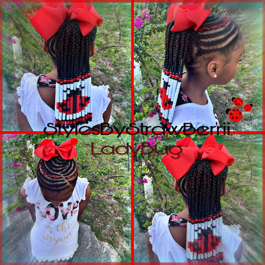 Kids BRAID STYLES CHARACTERS BACK TO SCHOOL SPECIAL