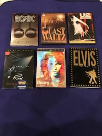 12 Various Musical Inspired DVD's $10 For all of them Calgary, T2M 2P2