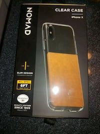 Nomad clear/brown case Elkhart, 46517