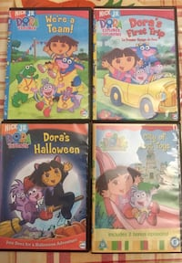 Dora the explorer DVD's (Nick Jr) Richmond Hill, L4C 9S5