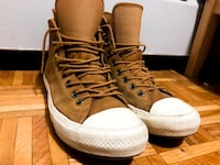 Pair of brown leather Converse Mississauga, L4X 2J3