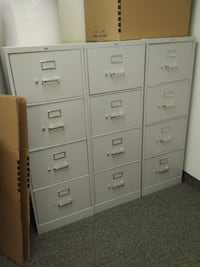 white wooden 6-drawer chest FAIRFAX