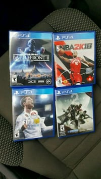 ALL 4 PS4 Games Hamilton, L9G 4V5