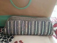 brown and green knitted textile Surrey, V3W 3X2