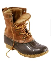L.L. Bean Shearling Lined Bean Boots Chandler, 85225