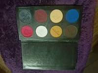 two black and pink makeup palette 3726 km