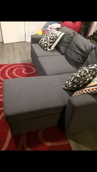 gray sectional couch Toronto, M1M 2C8