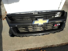 Chevy Colorado Z71 grille.