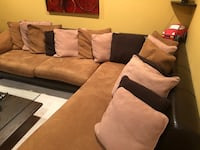 ZGallerie Sectional Couch Fairfax