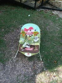 baby's green and white bouncer Montgomery, 36109