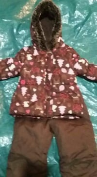 3T euc 2 pc Joe fresh forrest animals snow suit  London, N5Z 2P8