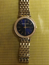 Gold stainless Steele MK Watch