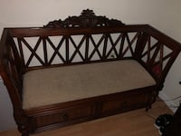 Wooden Loveseat (with storage) Sweetwater, 33172