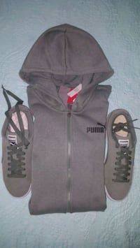 black and gray zip-up hoodie Gaithersburg, 20879