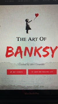 The art of Banksy Toronto, M4R 1E7