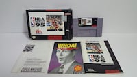 Super Nintendo Game NBA 95 Live