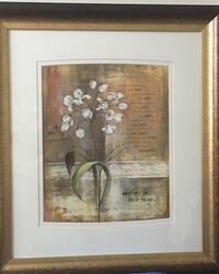 White lily painting Chatham-Kent