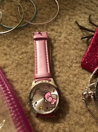 Hello Kitty pink and silver watch Virginia Beach, 23454