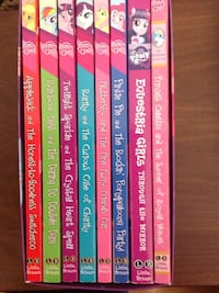 My little pony chapter books  like new (8) Mountain View, 94040
