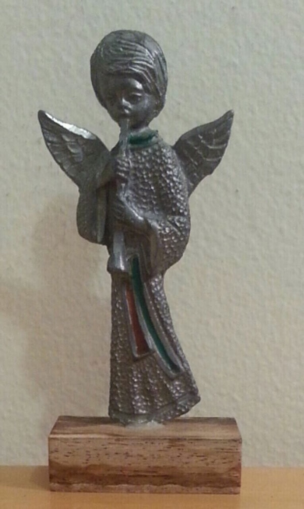 Pewter Angel Figurine