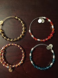Alex and Ani beaded bracelets  Toronto, M6N 4P8