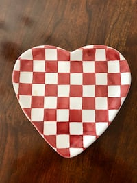 Heart Plate Handcrafted in Hungary Centreville, 20120