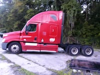 red Ford F-150 extra cab pickup truck Pooler