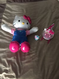 Dancing hello kitty sounds and hello kitty helicopter