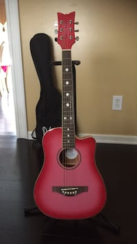 Acoustic Guitar, good condition including Stand and Case Egg Harbor, 08234