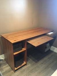 Real wood desk Markham
