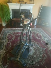 black and gray elliptical trainer Bristow, 20136