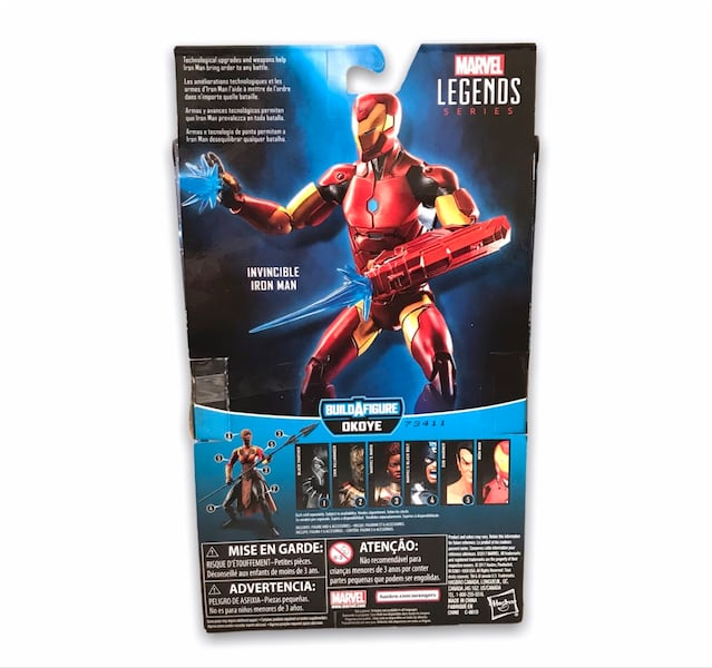 Marvel Legends Iron Man figür 57cf667e-4306-42b8-b049-1277aa7fc768