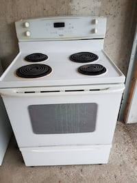 White Kenmore Electric Oven