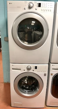 LG front load washer and electric dryer set  Reisterstown, 21136